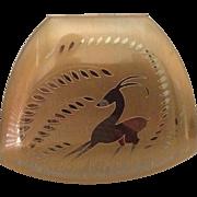 SALE Vintage Elgin American Gazelle- Deer Compact