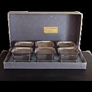 International Silver Co. Silver Plate Dessert Set - Nut Cups