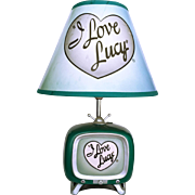 SALE Vintage I Love Lucy TV Lamp