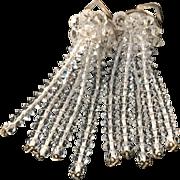 Austrian Crystal Cascade Earrings