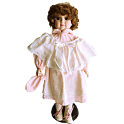 """Solax Porcelain Doll """"Charity"""" 16"""""""