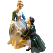 "REDUCED Royal Doulton 1961 Figurine ""The Suitor"""