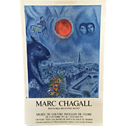 Marc Chagall Vintage Lithograph/Poster