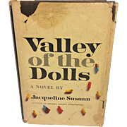 SALE Valley of the Dolls Book Signed by Author Jacqueline Suzann w/ Dust Cover 1st ...