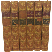 SALE Antique Books Works of Charles Lamb 6 Volumes 1893
