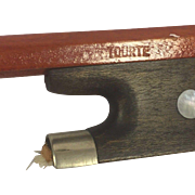 SALE Vintage Tourte Violin Bow Unique Slide for Frog