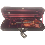 SALE Vintage Andre Tellis Hammond Ashley Handmade Violin with Custom Hammond Ashley Case 2007