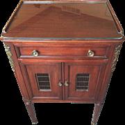 SALE Vintage John Widdicomb French Empire Mahogany Night Stand Drawer Open Body w/ Drawer & ..