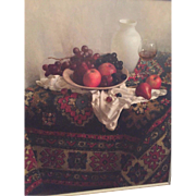 SALE Russian/Israeli Signed Oil on Canvas - Still Life Signed by Artist (Maria Manata (Matata