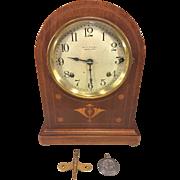 Antique Seth Thomas Sonora Chime Clock 5 Bells Doric Cabimet Model  No 61 Circa 1912 ...