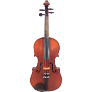 SALE Vintage Paul Mougenot (Mangenot) Violin with Bow and Case Mirecourt France Circa 1920s to