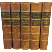 SALE 5 Volume Set History of England from the Accession of James II 1861 by ...
