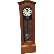 SALE Antique Standard Electric Time Company Grandfather Master Clock Runs? Circa 1905-1910 ...
