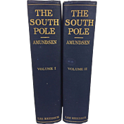 The South Pole London 1913 Roald Amundsen 2 Volumes New York Lee Kedrick 8VO First ...