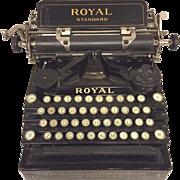 SALE Antique Royal Standard No 1 Typewriter Nice Stenciling & Finish