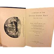 SALE A History of the United States Navy from 1775 to 1901 3 Volume Set ...