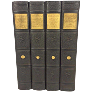 SOLD Vintage Abraham Lincoln 1st Edition 4 Volume Book Set by Albert Beveridge 1919 Houghton .