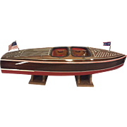 SALE Dumas Chris-Craft Runabout Remote Control Boat w/ Astro-21 Motor 1938 Model #1241 ...