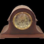 SALE Vintage Seth Thomas 4 Bell Sonora Clock Mahogany Tambour Case Runs Strikes Chimes ...