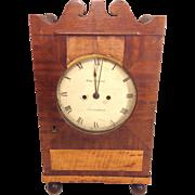 SALE Antique Double Fusee Bracket Clock William Robson Movement & Robert Jones Case Liverpool