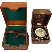 SOLD Vintage 1941 Hamilton Model 21 Chronometer Both Inner & Outer Cases Serial #4662 14 Jewel