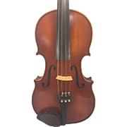 SALE Vintage A R Seidel Violin with Case Glaesel Adjusted V131E 1985 Mittenwald Germany  ...