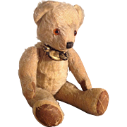 Vintage Jointed Teddy Bear. C1940
