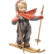 """12"""" R. John Wright Hummel """"Skier"""" Doll Limited Edition 150 Pieces"""