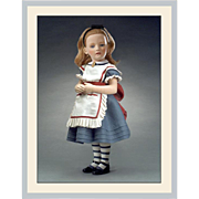 "17"" R. John Wright Alice in Wonderland Character Doll Limited Edition"
