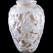 """Consolidated Art Glass """"Dogwood"""" Vase by Designer Reuben Haley, c.1926 — Art Moder"""
