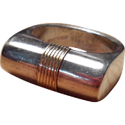 Vintage Cellini .925 Sterling Silver Ring