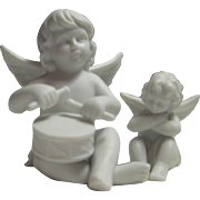 Vintage Rosenthal Matte White Classic Angels