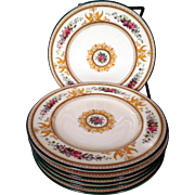 "SOLD 6 Wedgwood China Columbia 6"" Dessert Plates"