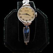 Vintage GRUEN PRECISION 17 Jewels Ladies Watch - 10K RGP Bezel