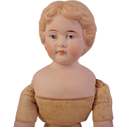 14 inch  Turned Head Parian Girl