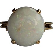 REDUCED Large Opal Ring, 18Kt YG
