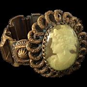 Victorian Revival Cameo Bracelet