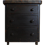 Painted Chest-of-Drawers, Shenandoah Valley, Virginia, 19th Century