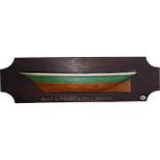 English Half-Hull Model, Tulley & Co. , Bristol