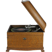 Victor Victrola Table Top Record Player VV-IX- Serial Number 188101G from 1915