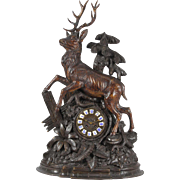 Swiss Carved Clock