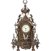 Clock And Candelabras