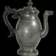 Pewter Teapot