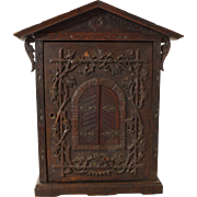 Austrian Carved Apothecary Cabinet