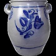 Westerwald Salt Glazed Stoneware Crock