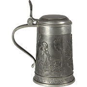 Embossed Pewter Stein
