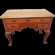 Robert Johnson Bucks County Solid Walnut 18th Century Style Lowboy