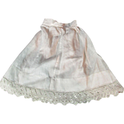 """Lovely Vintage Petticoat for French or German Doll - 10.5"""" Long"""