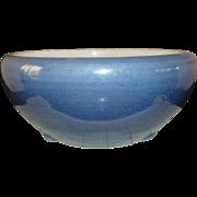 Superb 17/18th c Kangxi Monochrome Blue Censer 22.5cm by 10.5cm