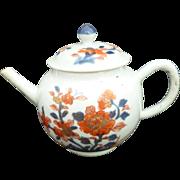 Chinese 18th c large Imari Teapot Kangxi-Yongzheng-Qianlong